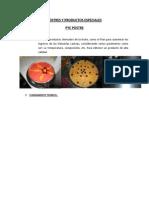 Postres y Productos Especiales Pye