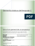 Elementos Basicos Del Lenguaje C Parte II