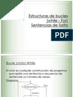 Estructuras de Bucles