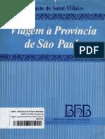 Saint Hilaire - Resumo Duma Viagem No Interior Do Brasil