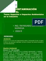 4.-Aspectos e Impactos Ambientales