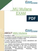 MMU Mullana
