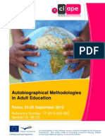 Autobiographical Methodologies Info