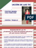 INTEGRACIÓN DE LA TIC'S - 2