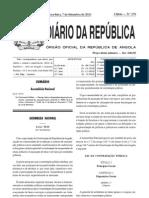 Lei da Contratação Pública de Angola