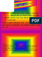 Rangul Unei Matrice (1)