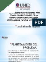 José Miranda Ángeles pres