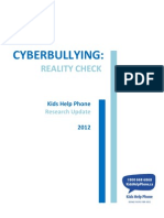Cyberbullying - Reality Check