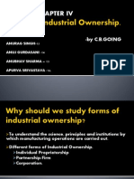 Forms of Industrial Ownership