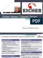 Eicher Motors Chanel Design