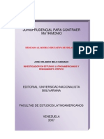 JURISPRUDENCIAL PARA CONTRAER MATRIMONIO