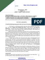 CBSE Sample Paper Class X