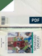 Lesiones Deportivas - Hans-Uwe Hinrichs - Libro (Medicina, Deporte, Patologia)