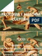 Filologia e História cultural 2