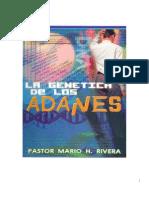 La Genética de los Adanes (Mario Rivera)