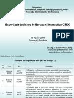 Expertizele Judiciare Europa CEDO Catalin Grigoras