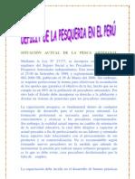 SITUACIÓN ACTUAL DE LA PESCA ARTESANAL