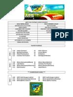 2013-2014 Playoff Schedule
