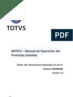 MIT072 - Manual Del Prototipo TOP 20120313-Martes