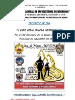 Proyecto Por Aniversario de La Efp Ing. Minas