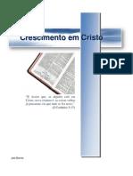 Crescimento Em Cristo - COMPLETO 6,37 MB