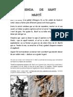 Llegenda de St. Martí