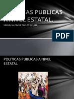 Politicas Publicas a Nivel Estatal