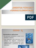 ambiental TOXICIDAD DE LOS COMPUESTOS ORGÁNICOS