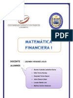 matematica financiera RSU