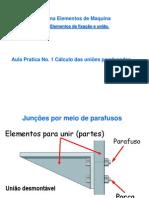 Elementos de Maquina Aula 02 Parafusos