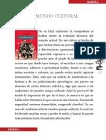 Contra el mundo cultural (Reseña de Literatura de izquierda, de D. Tabarovsky)