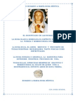 GLORIOSO ROSARIO A MARÍA ROSA MÍSTICA