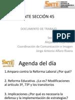 Documento de Trabajo. Reforma Laboral