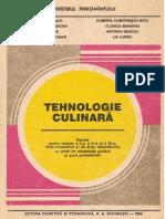 Tehnologie culinara. Manual