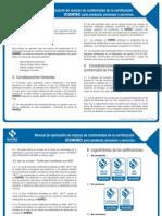 Manual de Aplicacion Para Producto, Procesos y Servicios