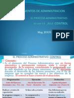 SESIóN 13_2012 CONTROL