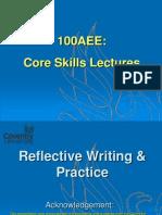 100AEE Reflective Practice