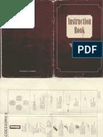 Elna 1958 Supermatic Manual