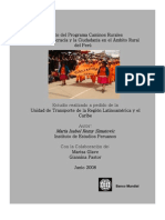 Impacto ProgramaCaminosRurales Peru