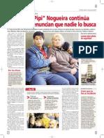 """El hijo del """"Pipi"""" Nogueira continúa prófugo y denuncian que nadie lo busca"""