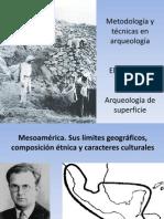 3.- Técnicas en arqueología