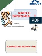Clase Doce Derecho Uno