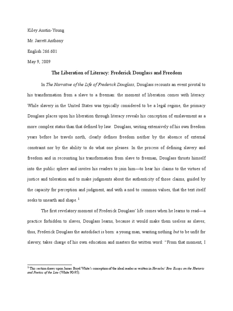 Frederick douglass narrative essay good topics to write an essay about