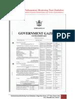 Zimbabwe 2013 Harmonized Elections Presidential,National Assembly and Senate Candidates List- Pmt Zimbabwe Mp Profiling