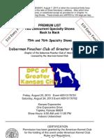 DPCGKC Premium List