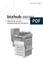 Manual de Konica Minolta Bh 350