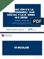 SITUACIÓN DE LA RESPONSABILIDAD SOCIAL Y LA NORMA 26000