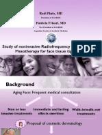 Radiofrecuencia y Mesoterapia