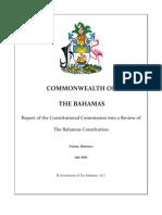 Constitution Commission Report