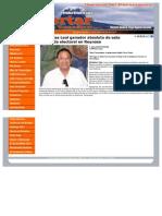 07-07-2013 Pepe Elías Leal ganador absoluto de esta contienda electoral en Reynosa